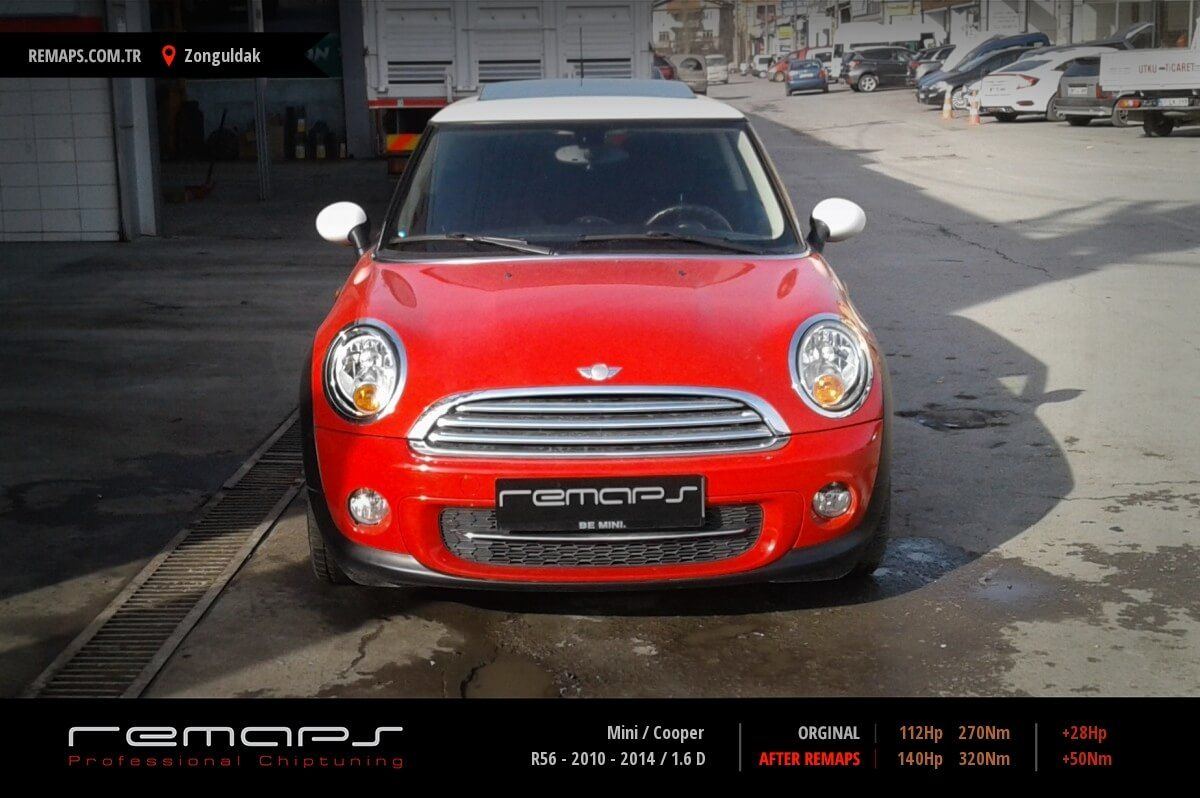 Mini Cooper R56 2010 2014 16 D Chip Tuning Performans Yakıt