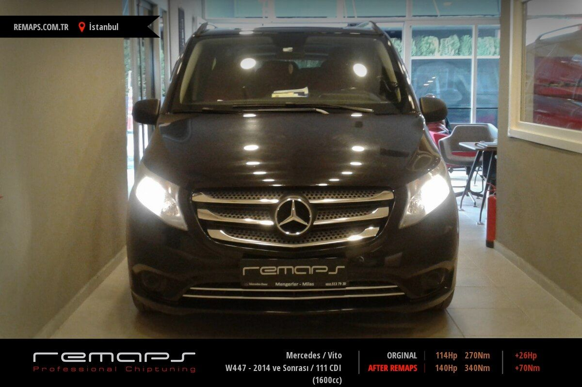 Mercedes Vito İstanbul Chip Tuning