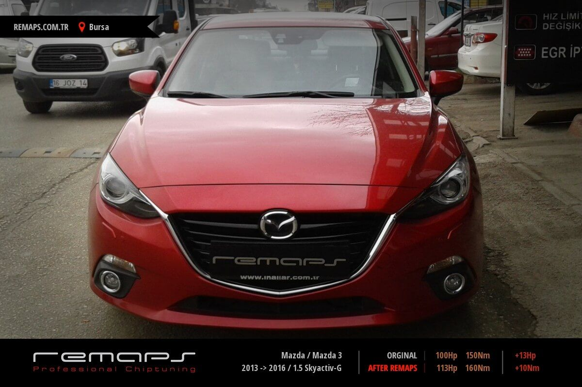 Mazda Mazda 3 Bursa Chip Tuning