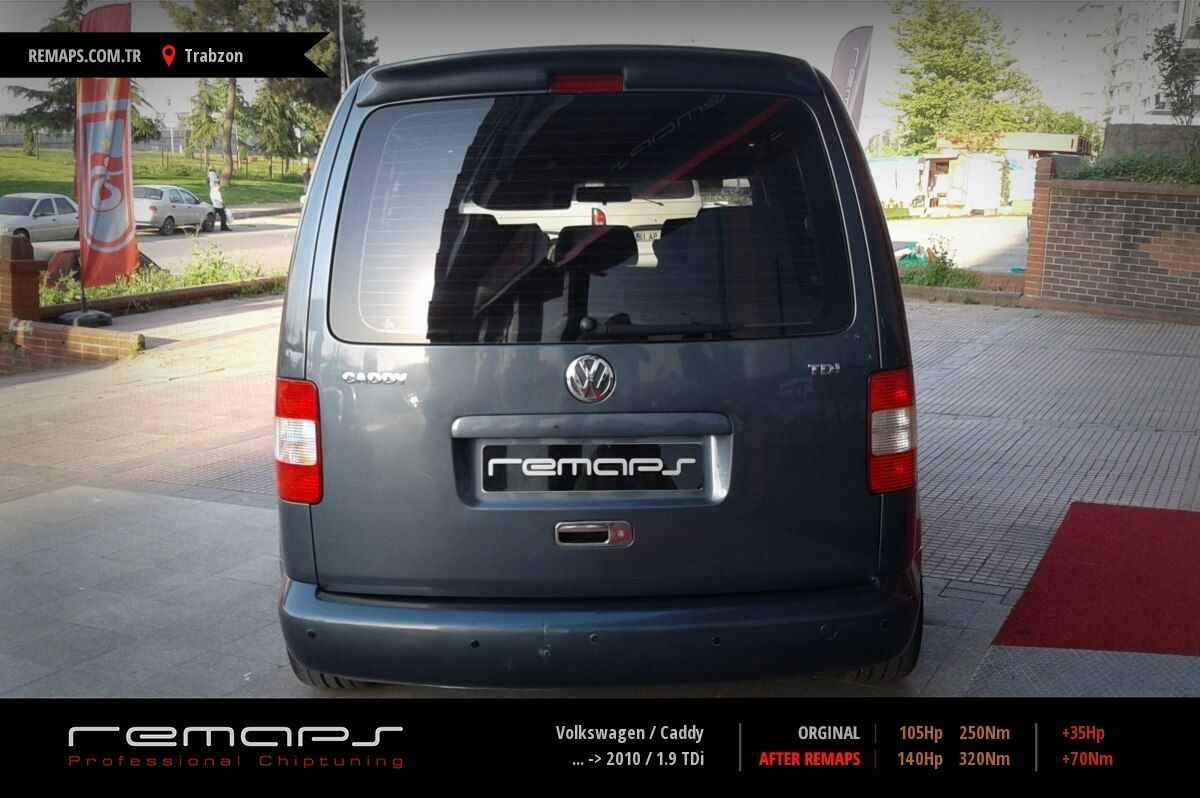 Volkswagen Caddy Trabzon Chip Tuning