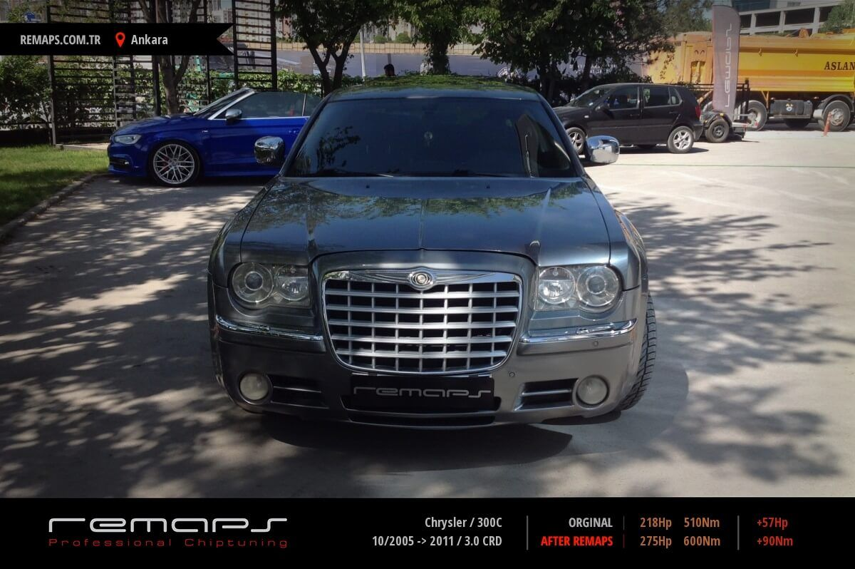 Chrysler 300C Ankara Chip Tuning