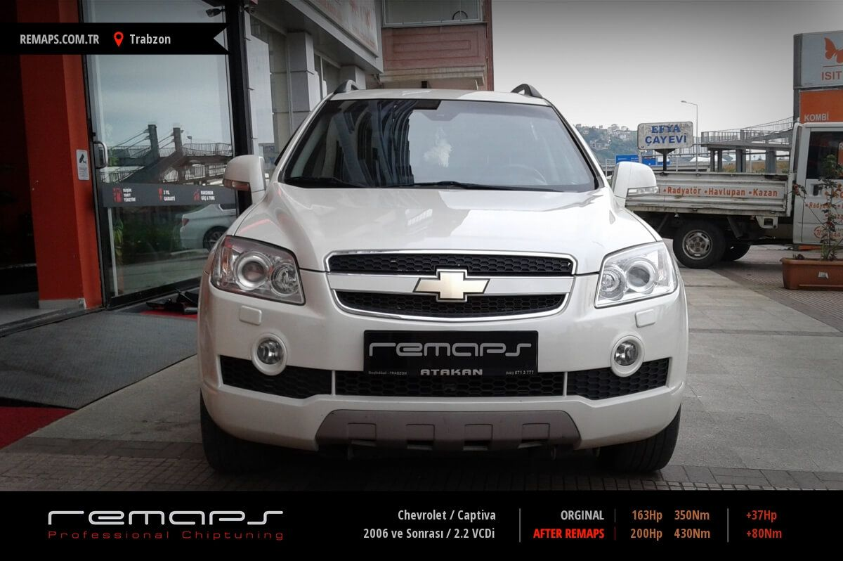 Chevrolet Captiva Trabzon Chip Tuning