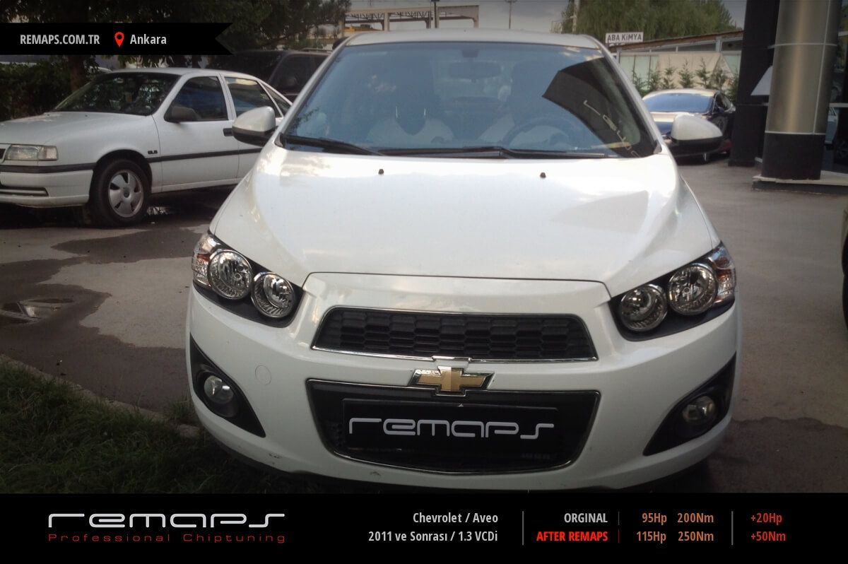 Chevrolet Aveo Ankara Chip Tuning