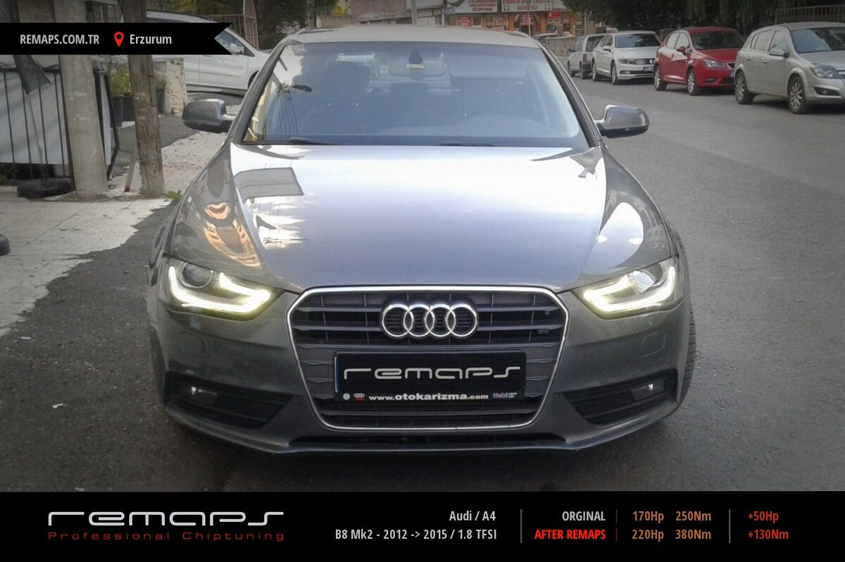 Audi A4 Erzurum Chip Tuning