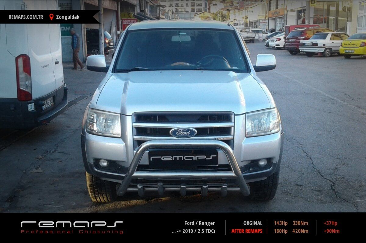 Ford Ranger Zonguldak Chip Tuning