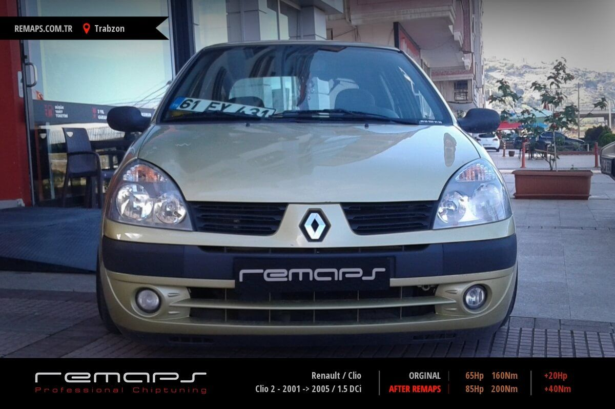 Renault Clio Trabzon Chip Tuning