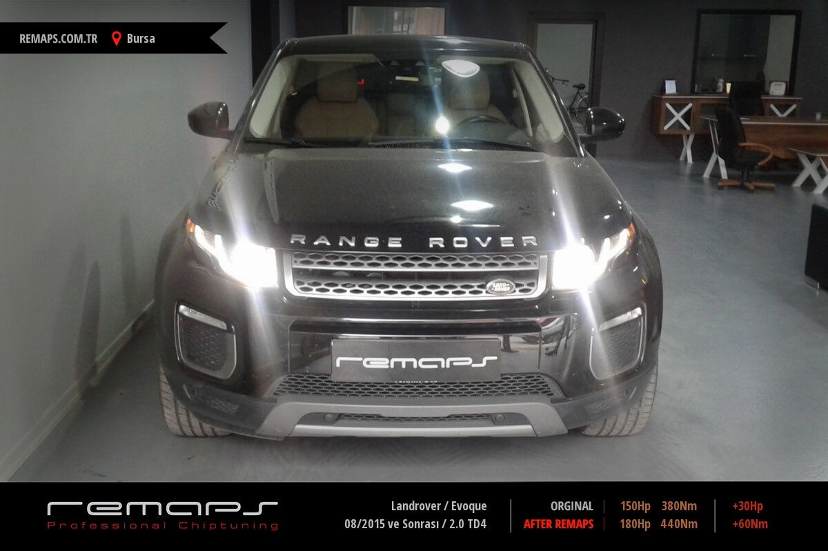 Landrover Evoque Bursa Chip Tuning