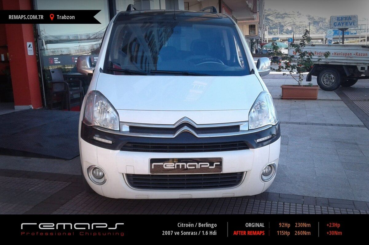 Citroën Berlingo Trabzon Chip Tuning