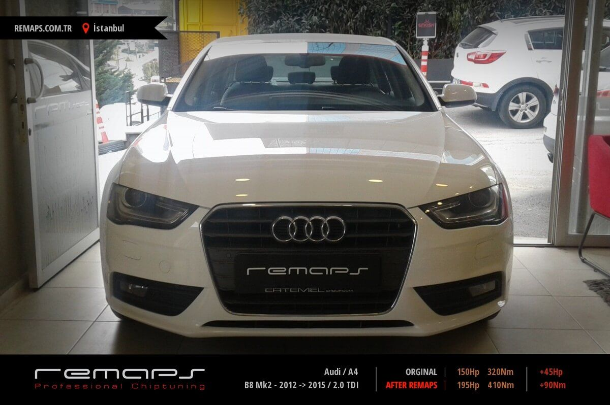 Audi A4 İstanbul Chip Tuning