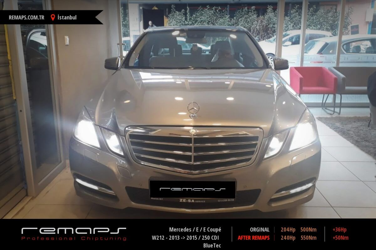 Mercedes E / E Coupé W212 - 2013 -> 2015 250 CDI BlueTec