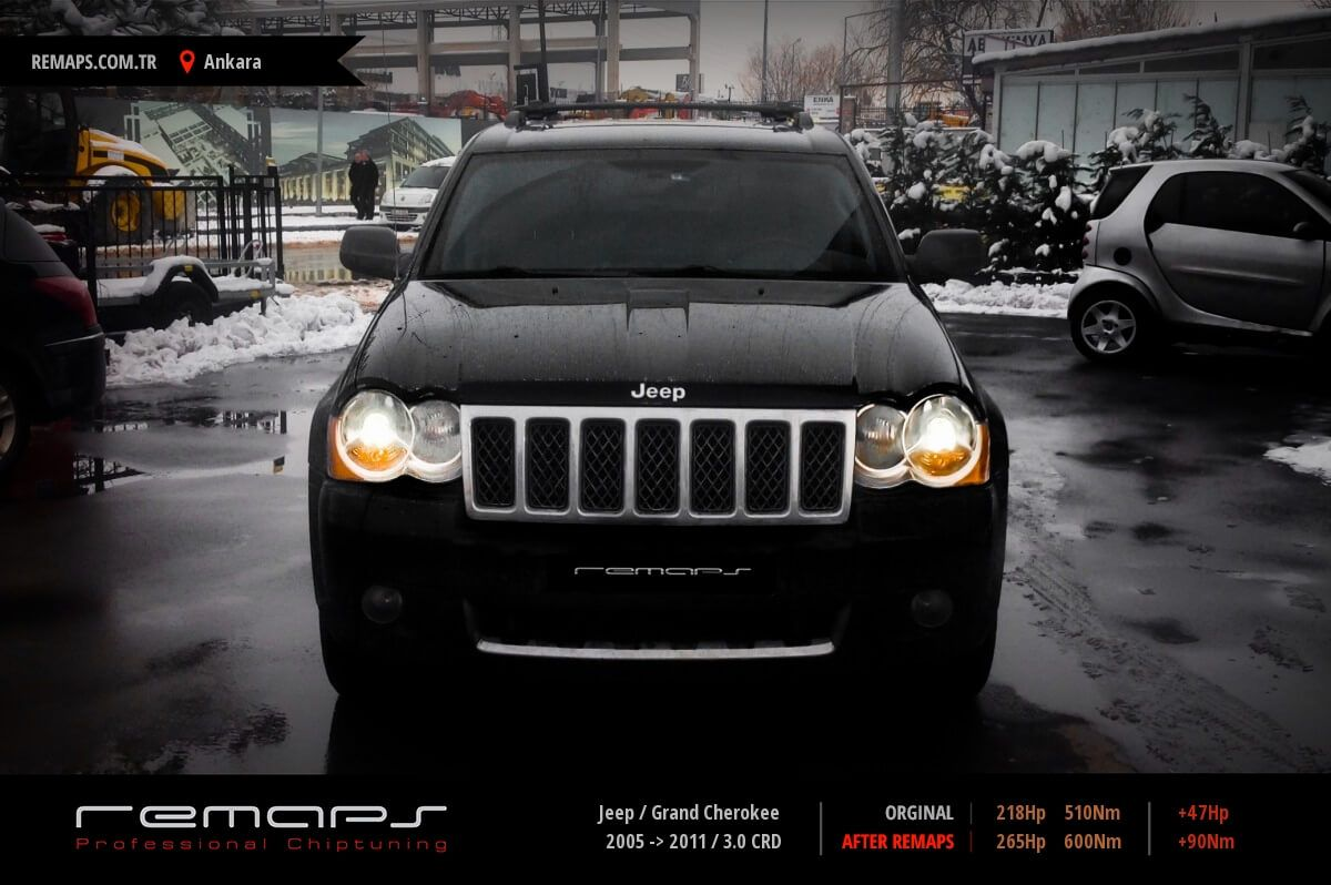 Jeep Grand Cherokee Ankara Chip Tuning
