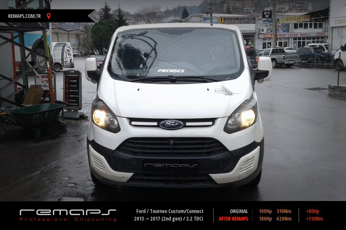 Ford Tourneo Custom/Connect  Chip Tuning