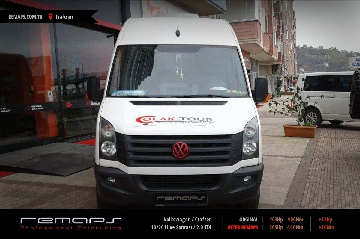 Volkswagen Crafter Trabzon Chip Tuning