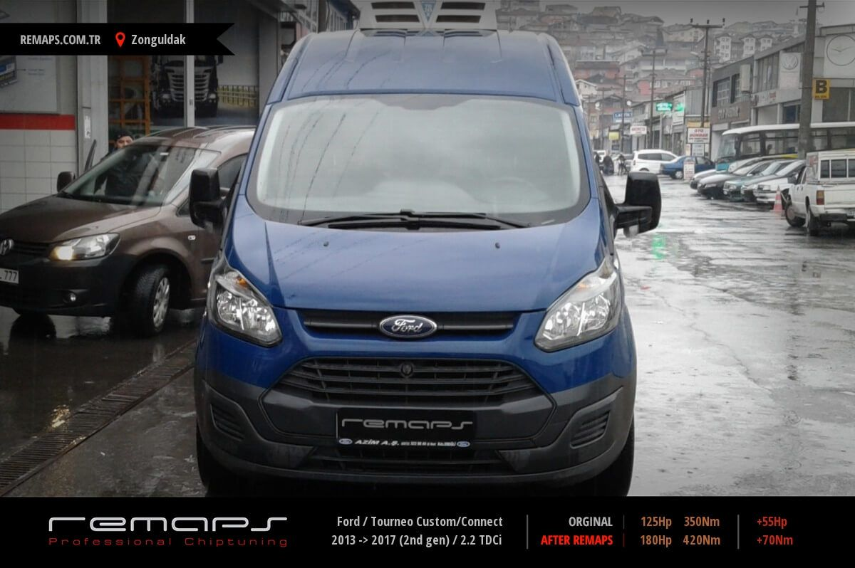 Ford Tourneo Custom/Connect Zonguldak Chip Tuning