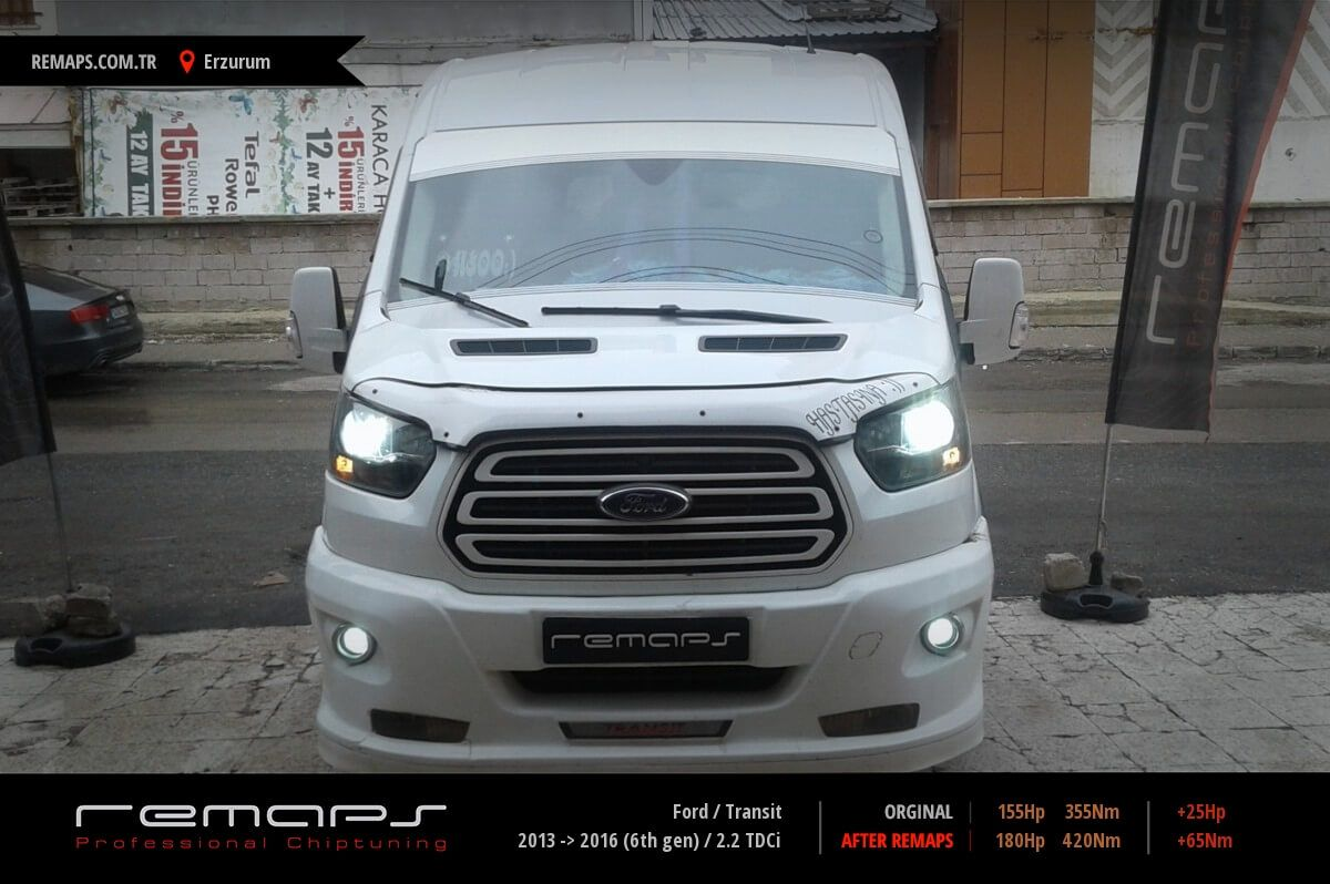 Ford Transit Erzurum Chip Tuning