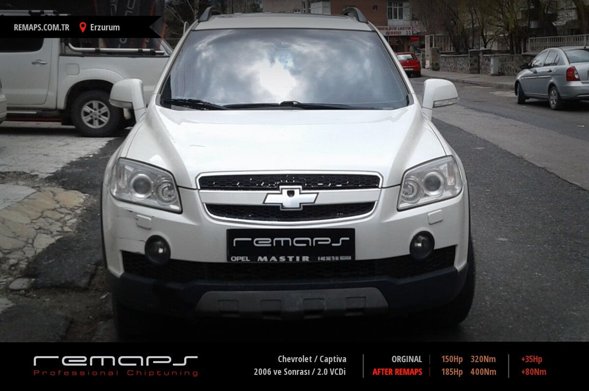 Chevrolet Captiva Erzurum Chip Tuning