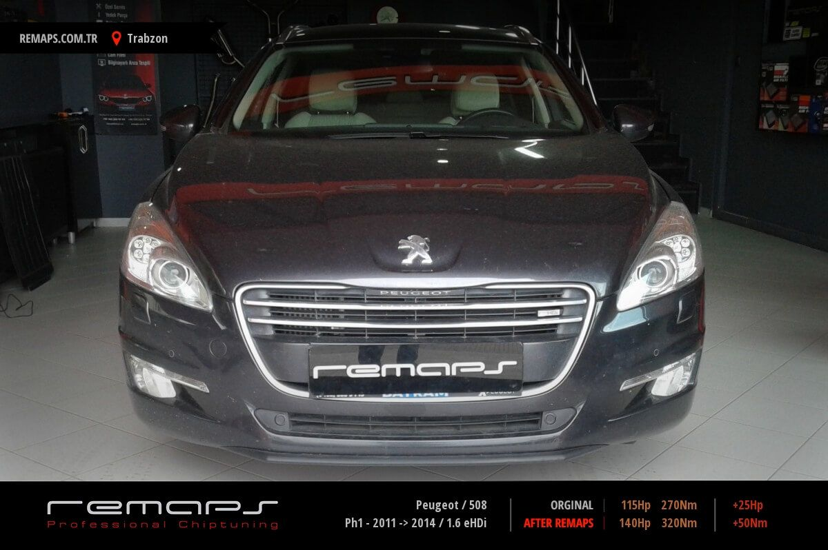 Peugeot 508 Trabzon Chip Tuning