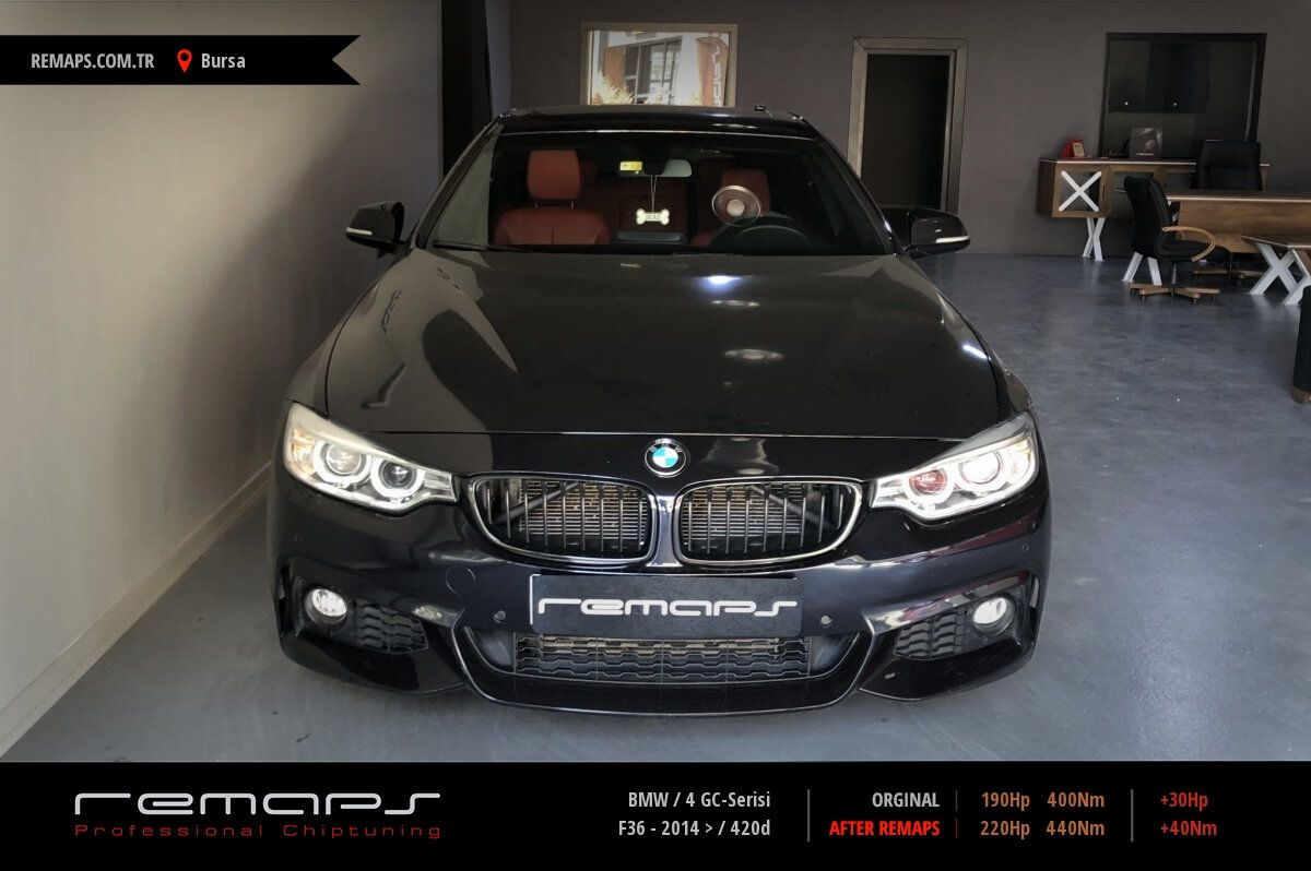 BMW 4 GC-Serisi Bursa Chip Tuning
