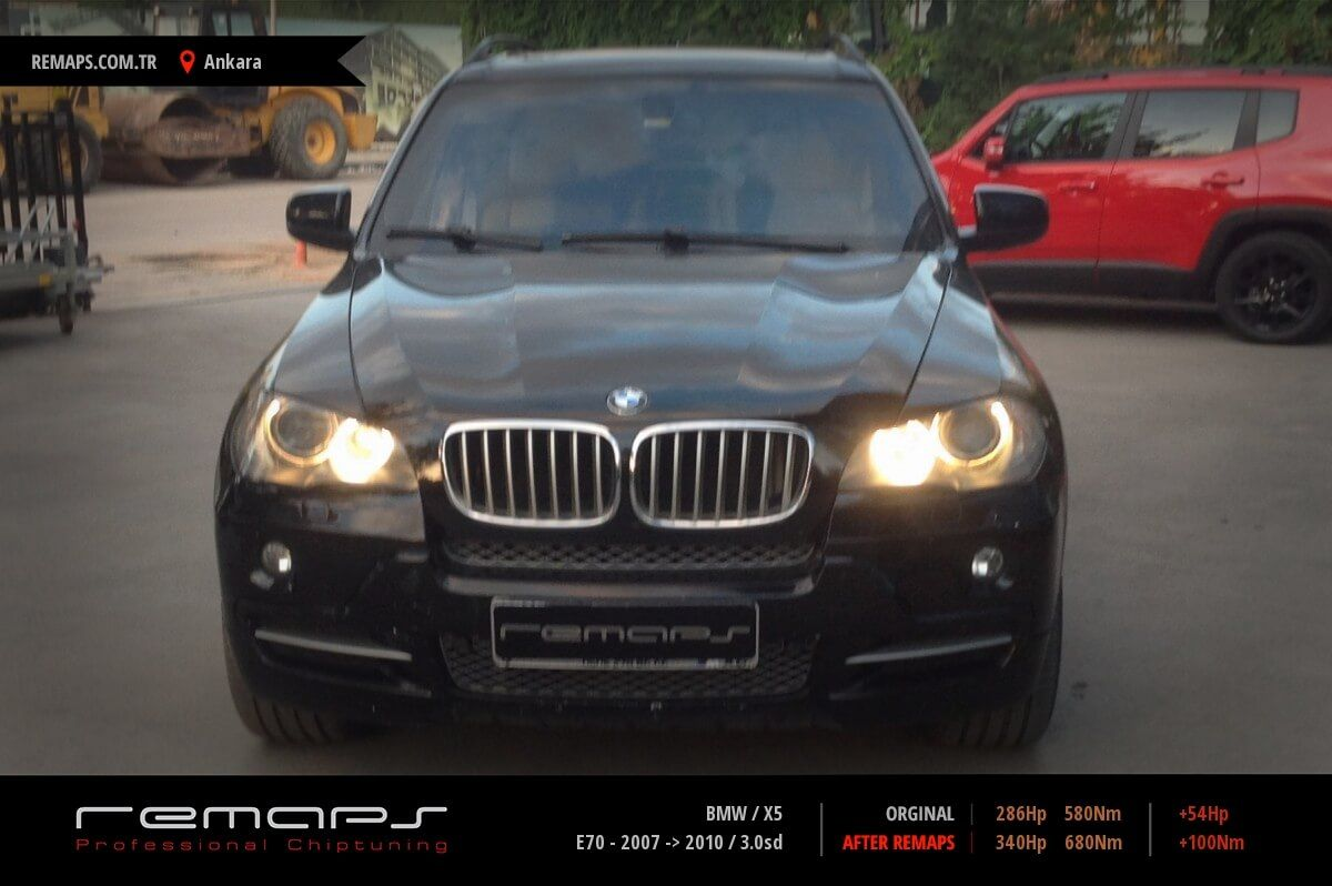 BMW X5 Ankara Chip Tuning
