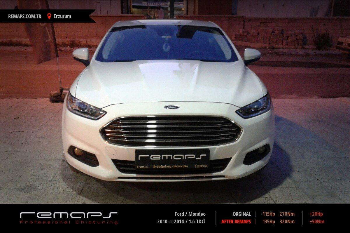 Ford Mondeo Erzurum Chip Tuning