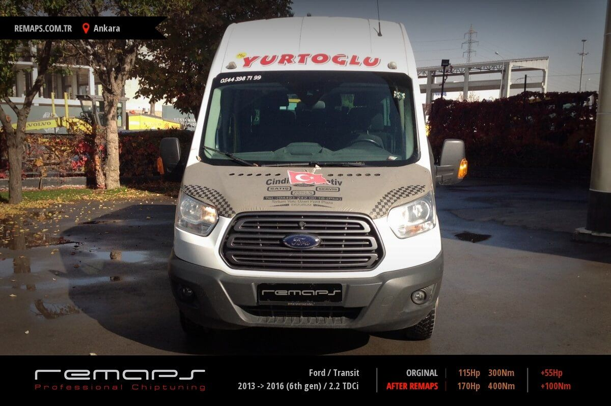 Ford Transit Ankara Chip Tuning