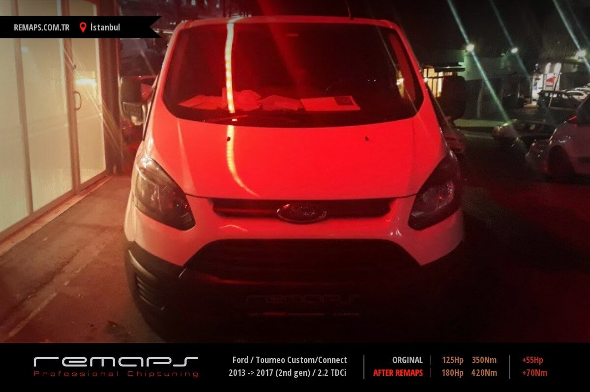 Ford Tourneo Custom/Connect İstanbul Chip Tuning