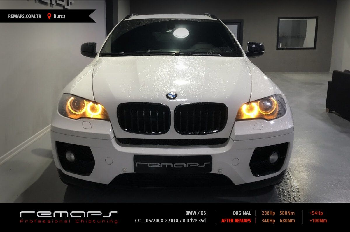 BMW X6 Bursa Chip Tuning