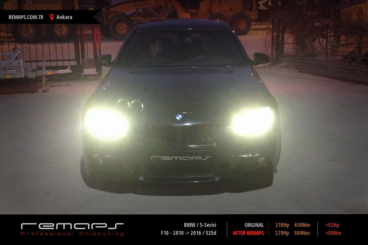 BMW 5-Serisi Ankara Chip Tuning