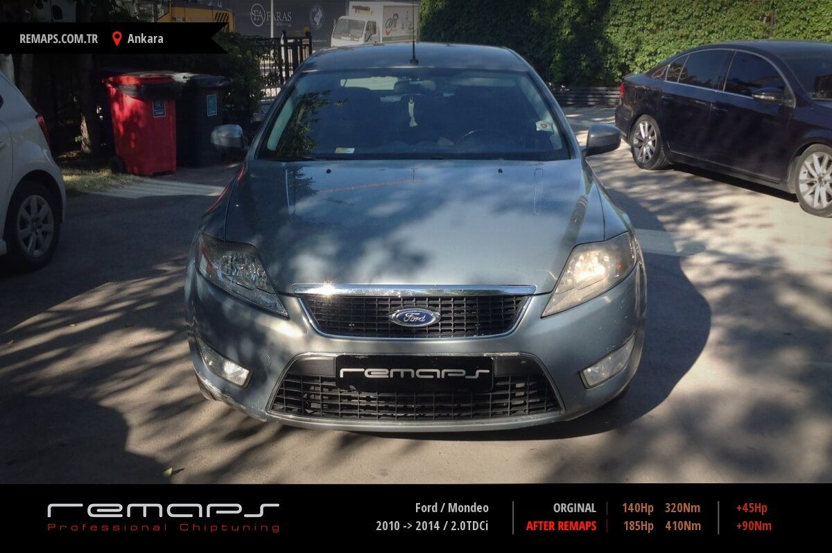 Ford Mondeo Ankara Chip Tuning