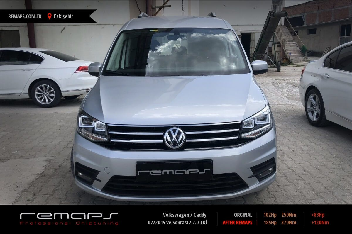 Volkswagen Caddy Eskişehir Chip Tuning
