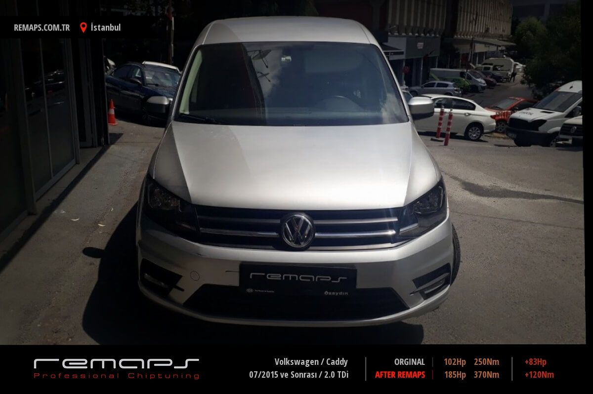 Volkswagen Caddy İstanbul Chip Tuning
