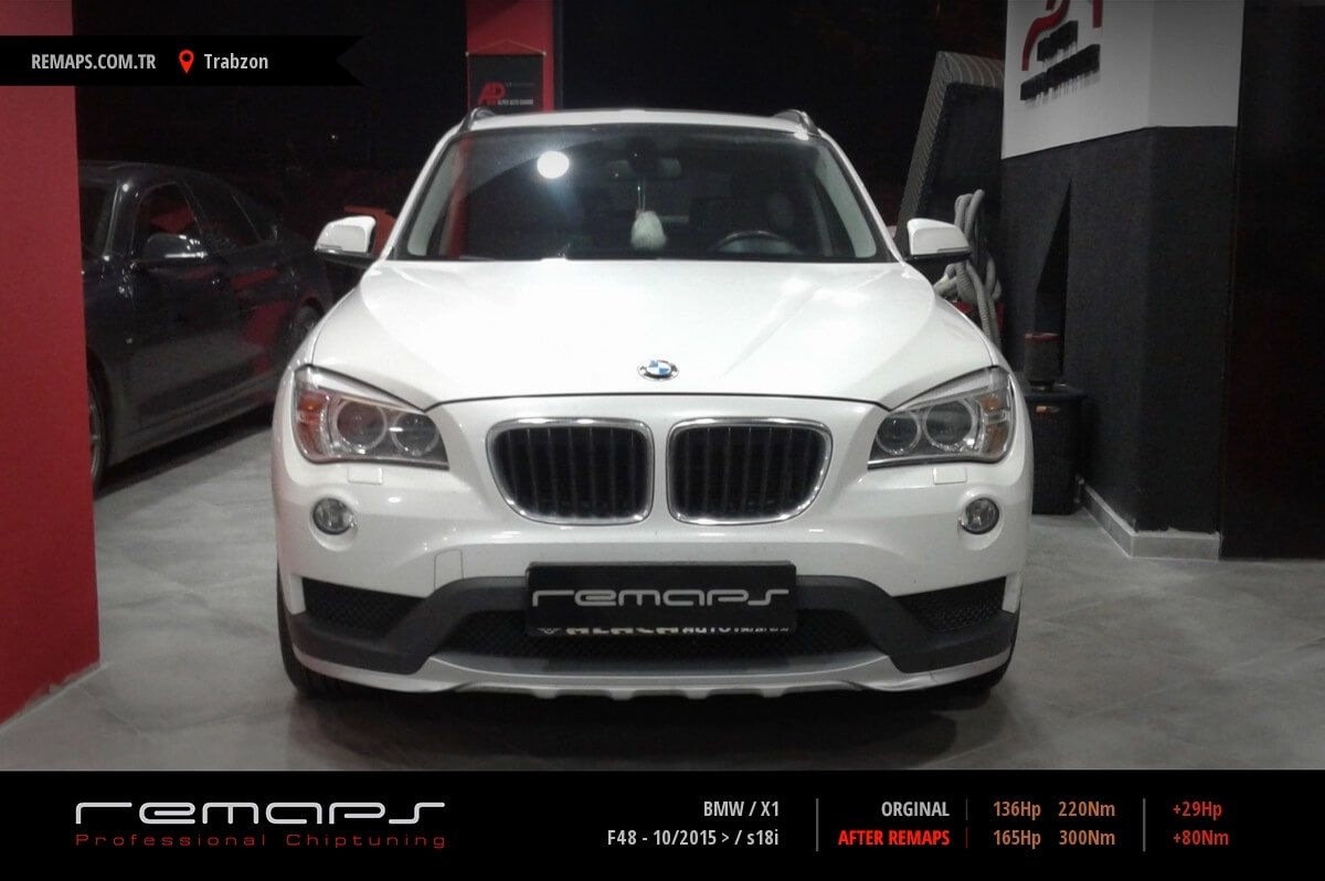 BMW X1 Trabzon Chip Tuning