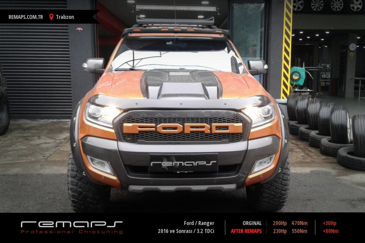 Ford Ranger Trabzon Chip Tuning
