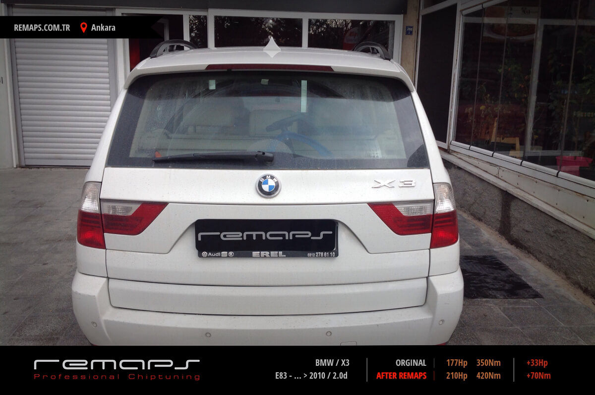 bmw x3 e83 2010 chip tuning performans. Black Bedroom Furniture Sets. Home Design Ideas