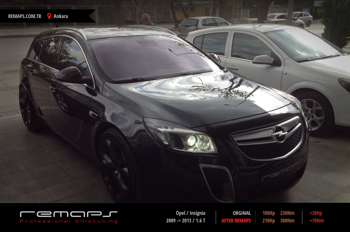 opel insignia 2009 2013 1 6 t chip tuning performans. Black Bedroom Furniture Sets. Home Design Ideas
