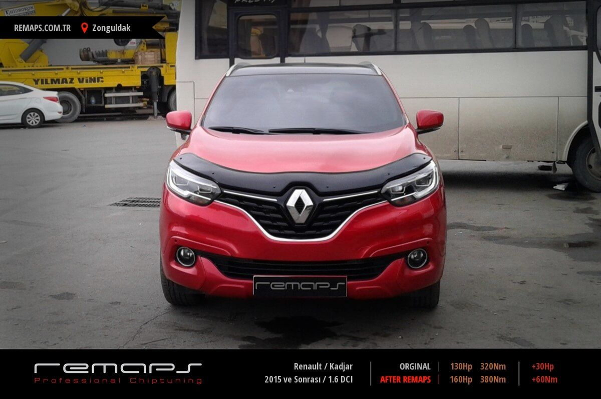 renault kadjar 2015 ve sonras 1 6 dci chip tuning. Black Bedroom Furniture Sets. Home Design Ideas
