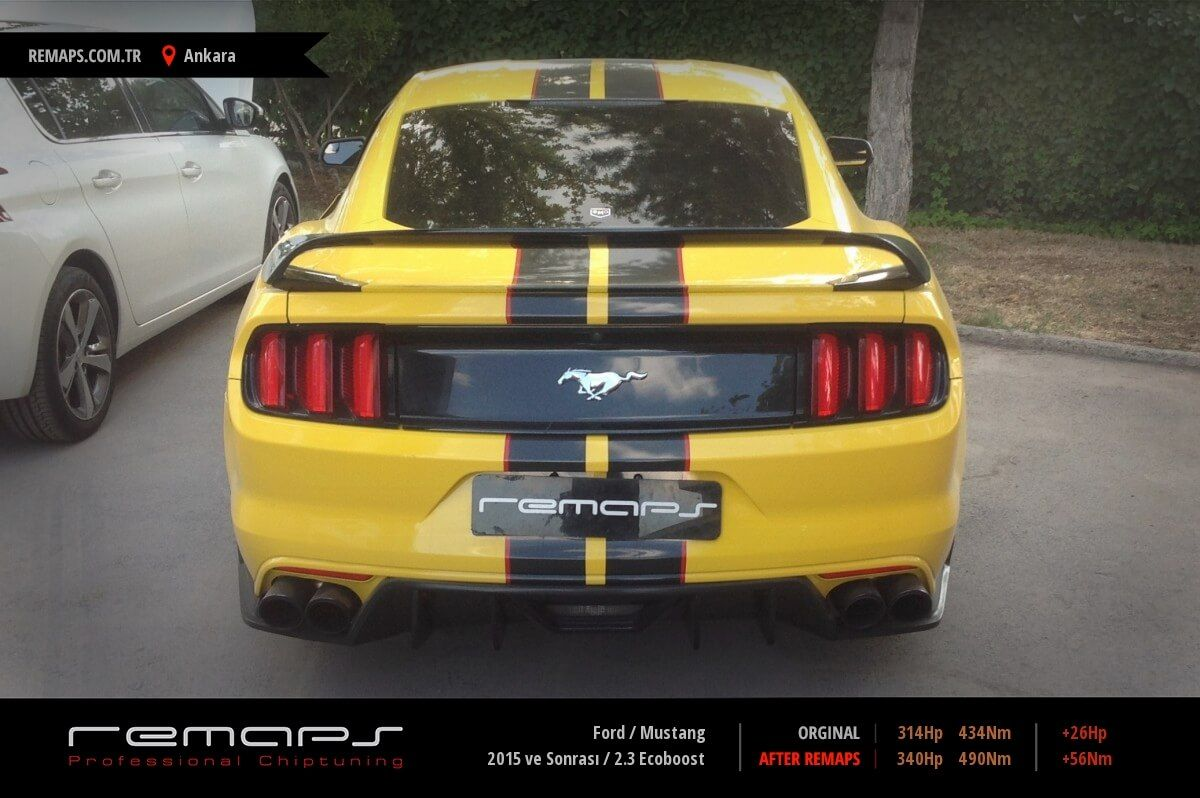 Ford Mustang 2.3 Ecoboost Chip Tuning